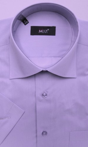 MUGA mens Shortsleeve shirts for Casual and Formal, Thistle, Size 4XL