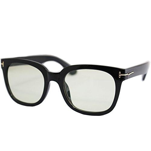 (エイトトウキョウ)eight tokyo IRUV1000-1-A UVカット 近赤外線カット ブルーライトカット ライトカラーサングラス 日本特許レンズ採用 鯖江メーカー企画・製造 メンズ レディース ソフトケース付き TYPE A