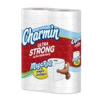 Charmin Ultra Strong Toilet Paper 6 Mega Rolls = 24 Regular