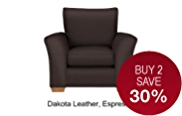 Lincoln Armchair - Leather