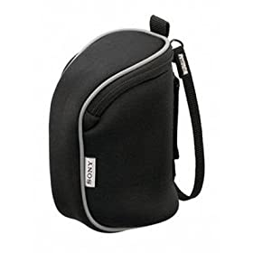 Sony Carrying pouch for Handycam® camcorder (Black)