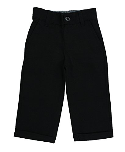 RuggedButts Infant / Toddler Boys Dress Pants - Black - 12-18m