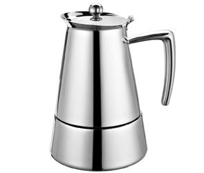 Cuisinox Cup Barista Espresso Stovetop Coffee Maker Size: 48 Oz.
