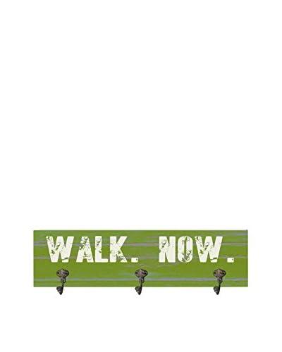 Artehouse Walk Now Leash Hanger, Green/White