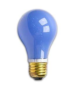 60 Watt A19 Blue Light Bulb Incandescent Bulbs Amazon Com