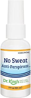 Dr. Kings Natural Medicine No Sweat Anti-Perspirant 2 Fluid Ounce