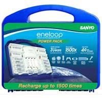 eneloop NEW Power Pack, 2000mAh Typical, 1900mAh Minimum, 1500 cycle, 8AA, 2AAA, 2