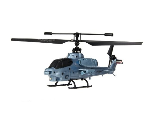 9113 Single Blade 3 Channel 2.4G Wireless RC Helicopter with Built-in Gyroscope (Silver) + Worldwide free shiping