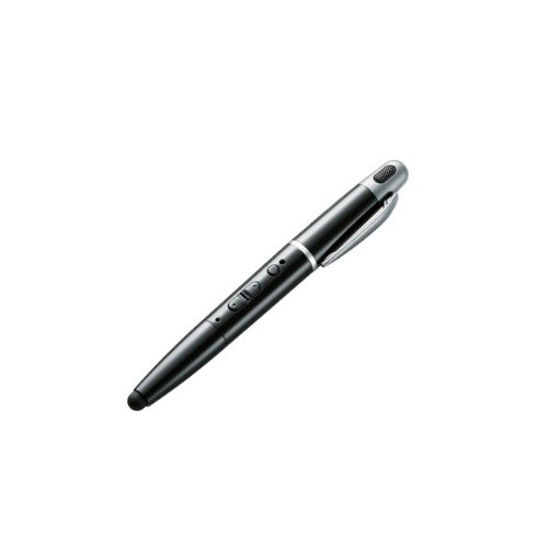 Logitec 【iPhone5にも対応】 タッチペン型Bluetoothヘッドセット スマートホン・タブレットPC対応 ブラック LBT-MPPHS01BK