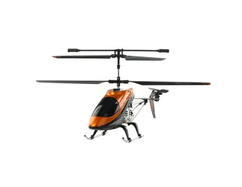 HQ 850 Wireless R/C 3-Channel Helicopter with Built-in Gyroscope (Orange)
