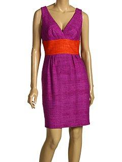 Trina Turk Purple Wool Sleeveless Dress (4)