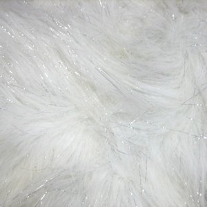 fake fur faux fur white sparkles fabric sold by the 1 2 yard. Black Bedroom Furniture Sets. Home Design Ideas