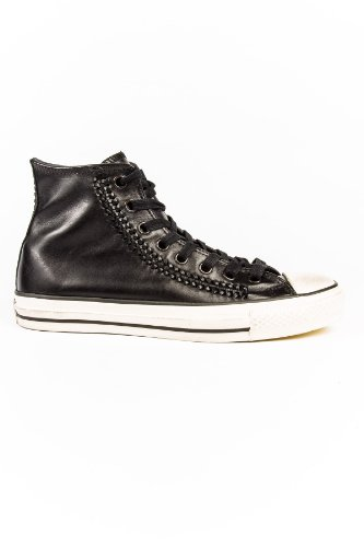 Converse John Varvatos Woven Leather Hi Men's Shoes Black 142958C (SIZE: 9.5)