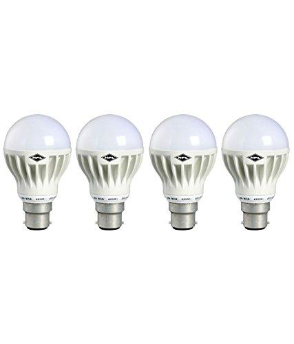 HPL B22 12W LED Bulb (White, Pack of 4) Image