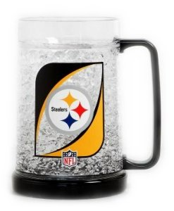 Americans Sport's Pittsburgh Steelers Crystal Freezer Mug