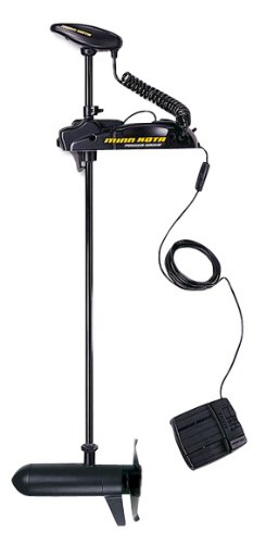 "MinnKota Powerdrive 45 V2 Bow Mount Trolling Motor with Foot Control (45lbs Thrust, 48"" Shaft)"