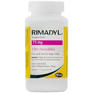 Pfizer Rimadyl Per Chewable,75 Mg Healthcare & Supplements Picture