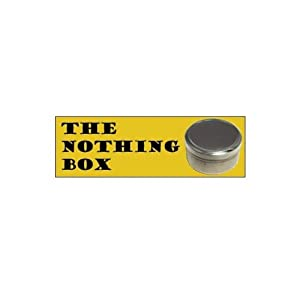 """The Nothing Box (AKA the Magic Rattle Box) with """"How To"""" Instuctions"""