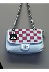 Handbag, Purses Pink/White Checkerboard
