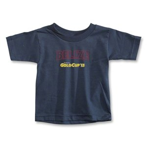 hidden CONCACAF Gold Cup 2013 Toddler Belize T-Shirt (Navy)