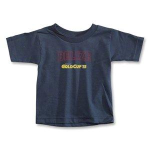 hidden CONCACAF Gold Cup 2013 Toddler Belize T-Shirt (Navy)