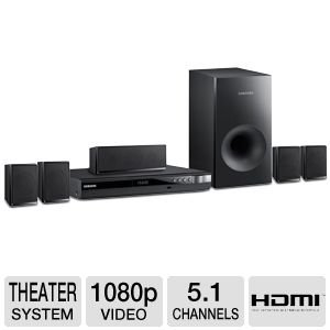 Samsung 5.1 Channel Surround Sound DVD Home Theater System from Samsung