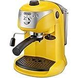 デロンギ ≪エスプレッソマシン兼用≫コーヒーメーカー EC221Y イエロー