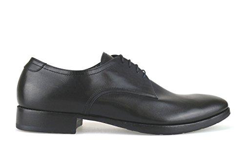 scarpe uomo FABI 45 EU classiche nero pelle AJ604