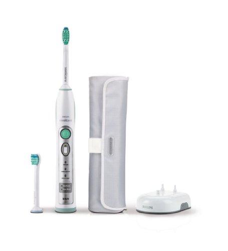 Philips Sonicare HX6902/02 Flexcare Elektrische Schall-Zahnbürste, grün/weiß