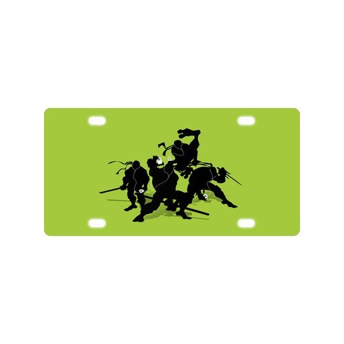Teenage Mutant Ninja Turtles TMNT Car Tag - Auto Tag - Michael Jackson The Star License Plate