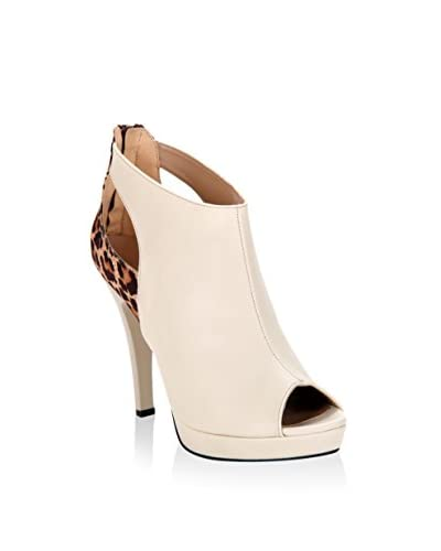 Adonna Zapatos abotinados Beige