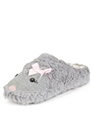 M&S Collection Hedgehog Mule Slippers