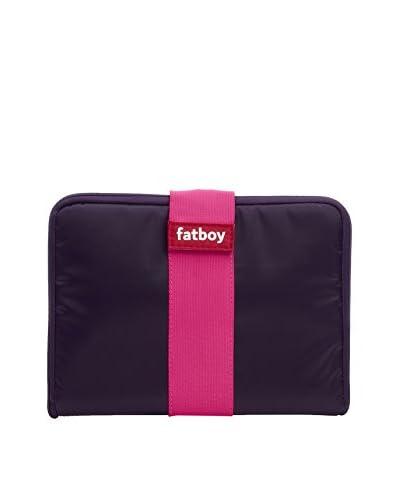 Famous Beanbag Maker Tablet Tuxedo, Dark Purple/Pink
