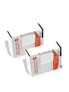 MP Extra - Pack de 2 batteries pour GoPro avec chargeur Universel