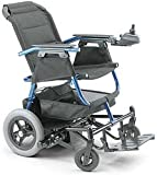"Invacare At'm Power Chair (Options - Wheels: Flat Free Seat Size: 18"" wide x 16"" deep (Standard) Color: Blue)"