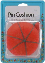 Dritz Tomato Pin Cushion With Emery C67; 3 Items/Order