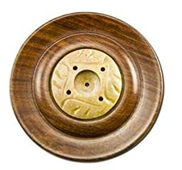 Prasad Gifts, Inc. Assorted Carved Stone Incense Dish