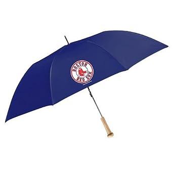 "MLB Ballpark 48"" Bat Umbrella MLB Team: Boston red Sox"