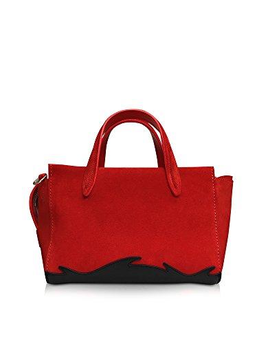 phillip-lim-sac-a-main-pour-femme-rouge-rot-marke-grosse-rouge-rot-marke-grosse-uni