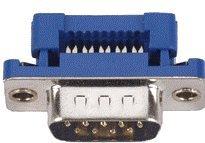 Pc Accessories - Idc Flat Ribbon Crimp Connectors Db9 Male, 2-Pack