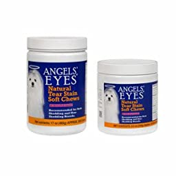 Angels\' Eyes Natural for Dogs - 120 Ct - Chicken Formula, Soft Chews by Angels\' Eyes ( Ear Care )