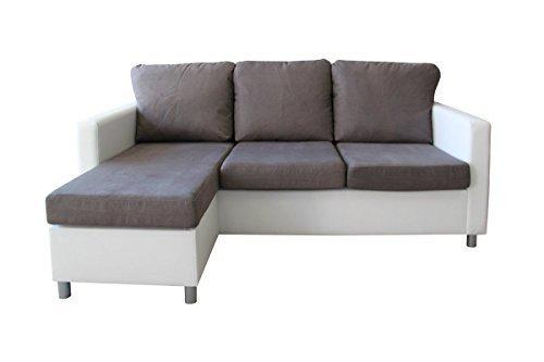 Ecksofa Olimp Eckcouch Sofa Couch 3-Sitzer mit Hocker 3er