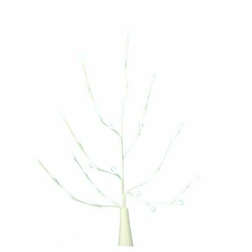 Kurt Adler Battery-Operated 32-Light White Led White Twig Branch