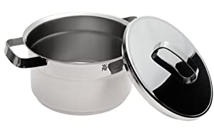WMF Topstar 3 2/3-Quart Stainless Steel High Casserole with Lid