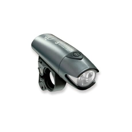 Planet Bike Beamer 3 - 3 White LED Bicycle Headlight - 3029