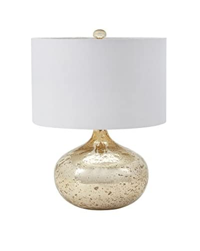 Artistic Lighting Table Lamp, Gold Mercury