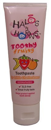 Halos N Horns Toothy Fruity Toothpaste 75ml by Halos N Horns