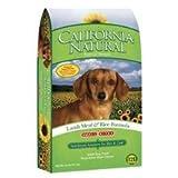 カリフォルニアナチュラル 成犬用 アダルト ラム&ライス 小粒 6.8kg ドッグフード