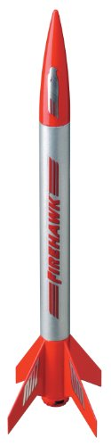 Estes 804 Firehawk Flying Model Rocket Kit - 1
