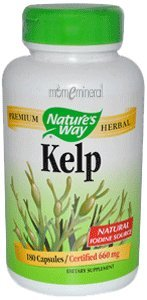 Kelp, 660 mg, 180 Capsules by Nature's Way